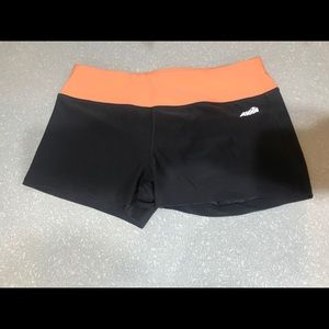 Spandex workout shorts